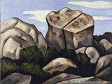 Marsden Hartley's Mountains in Stone